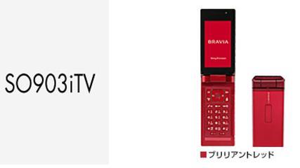 携帯SO903iTV