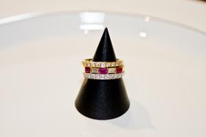 宮西さん指輪