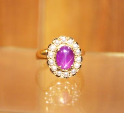 幸運の指輪