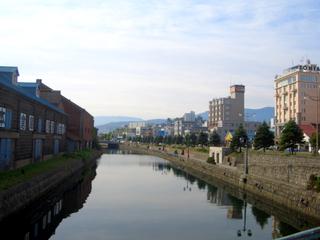 小樽運河 散歩