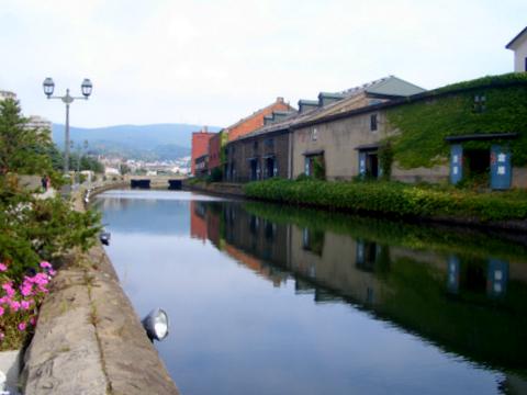 小樽運河 一人旅日記