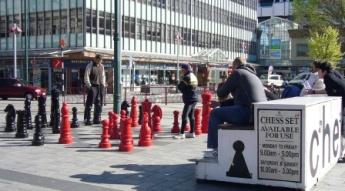 これが巨大チェスだ~!