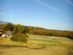 081114 新幹線から1