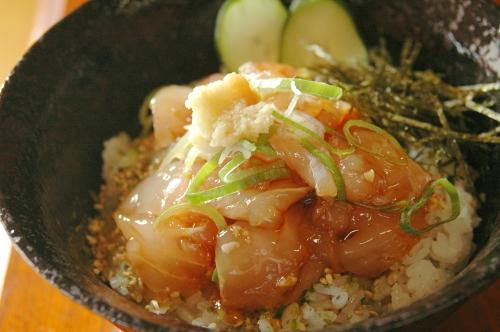 たきわヅケ丼たたき風1
