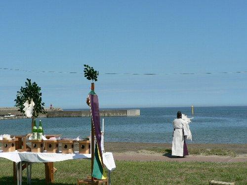 海水浴場安全祈願祭