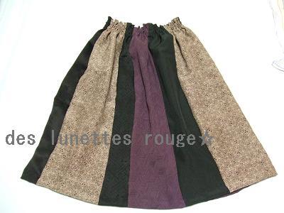 端切れdeスカート