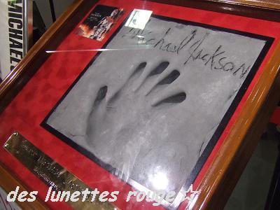 マイケルの手形