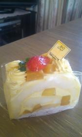 ケーキ‐パパイヤ