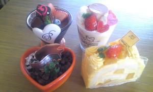 ケーキ‐集合