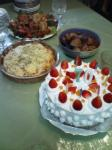 70歳ケーキ