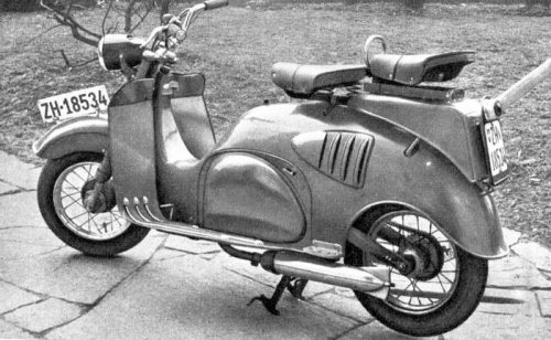 1949 Iso Scooter