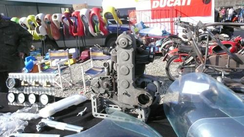 MV Monoalberoのエンジン