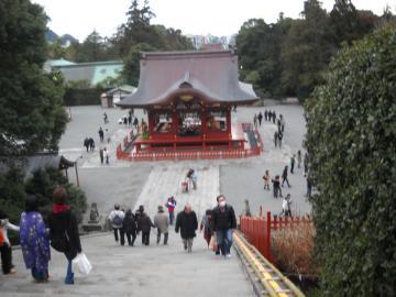 冬の鎌倉17