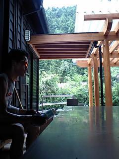 20080806和田峠休憩中