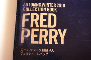 FRED PERRY フェルトトートバッグ