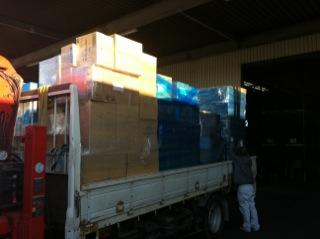 宮城 救援物資