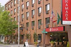 アメリカ シアトル ホテル ラマダイン