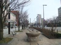 富山駅北口側