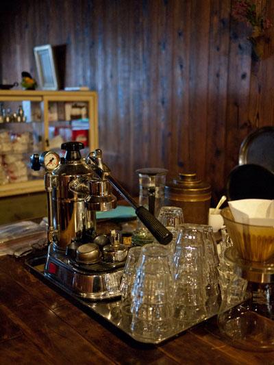 藤枝 コーヒーの苑 エスプレッソマシーン