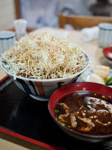 辰金本店 ソースかつ丼