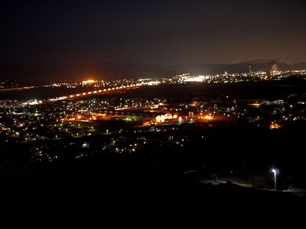 カンサーからの夜景
