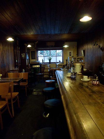 藤枝 コーヒーの苑 カウンター