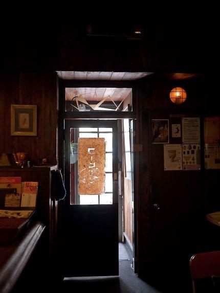 コーヒーの苑 ドア