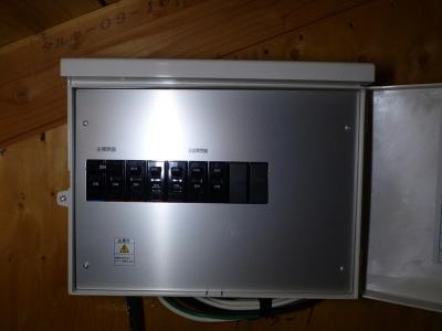 13接続箱オープン
