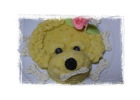 わんこケーキ1