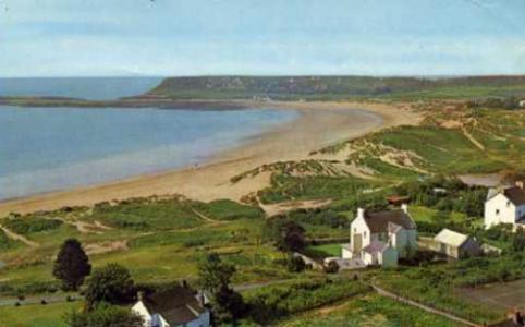 ウェールズの海岸