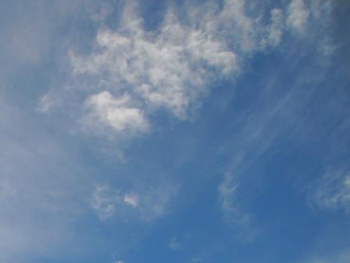 前天的天空