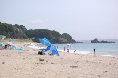 下田 田牛(とうじ)海水浴場