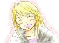 ウィンリィの笑顔w