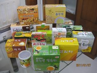 s当店韓国茶試飲