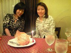 聡子さん誕生日①201105012124000