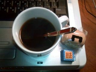 糖分&カフェイン補給