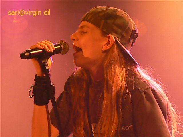 AK @ virgin oil SARI 2