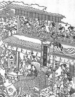 摂津名所図会の明神祭図