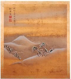 『有馬六景手鑑』の『有馬富士雪』