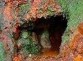 亀の尾の滝のお不動さん
