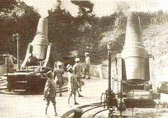 日露戦争で活躍した二十八センチ榴弾砲