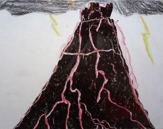 スクラッチ・火山