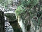 剣池(上から)