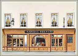 フランスのお店の外観
