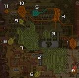 砂漠岩地マップ