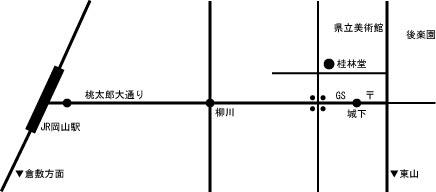 桂林堂地図