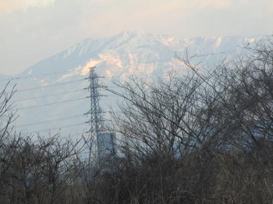 2・雪の那須連山
