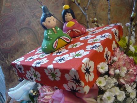 2011.2かわいい千代紙BOXで作る♪お雛飾りp3