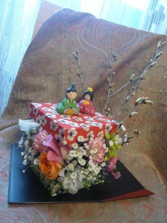 2011.2かわいい千代紙BOXで作る♪お雛飾りp1
