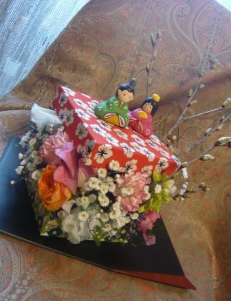 2011.2かわいい千代紙BOXで作る♪お雛飾りp4